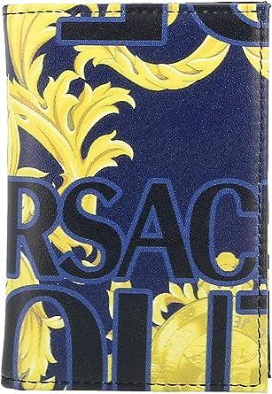Versace Jeans Couture homme porte-carte de cr/édit blu