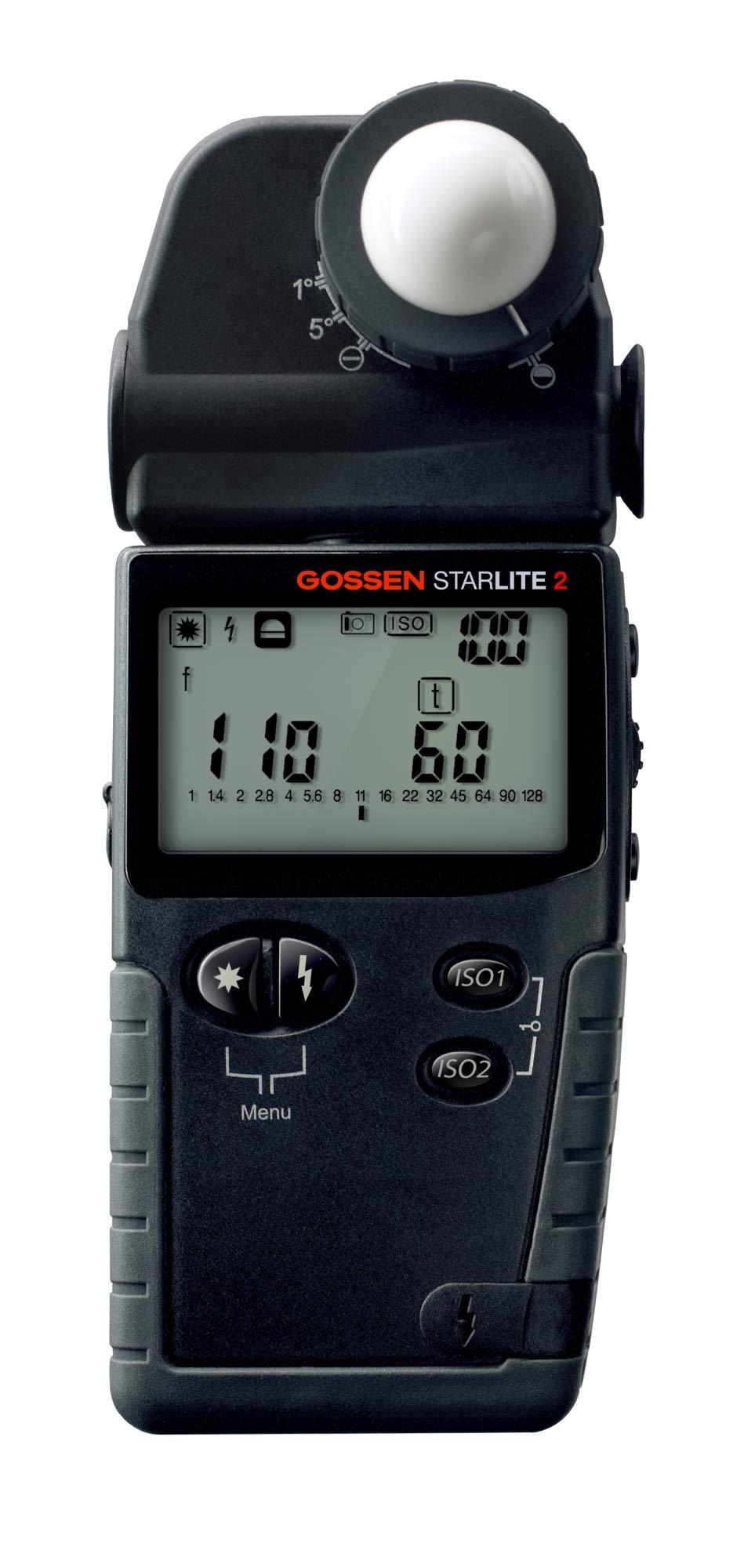 Gossen GO 4046 Starlite 2 Exposure Meter (Black) by Gossen