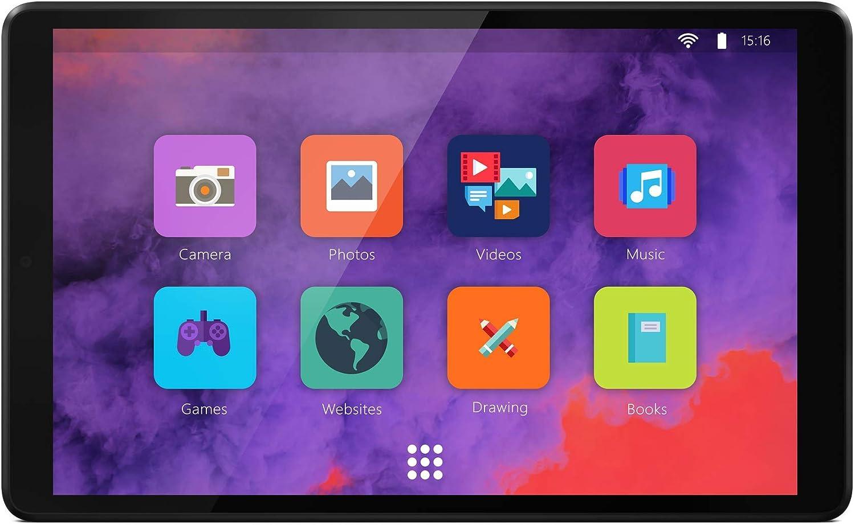 Tablet Tab M8 Mediatek A22 Tab Quad-Core Lenovo 2GB RAM Android 9 32GB eMCP 8 Zoll senza custodia grigio Wi-Fi