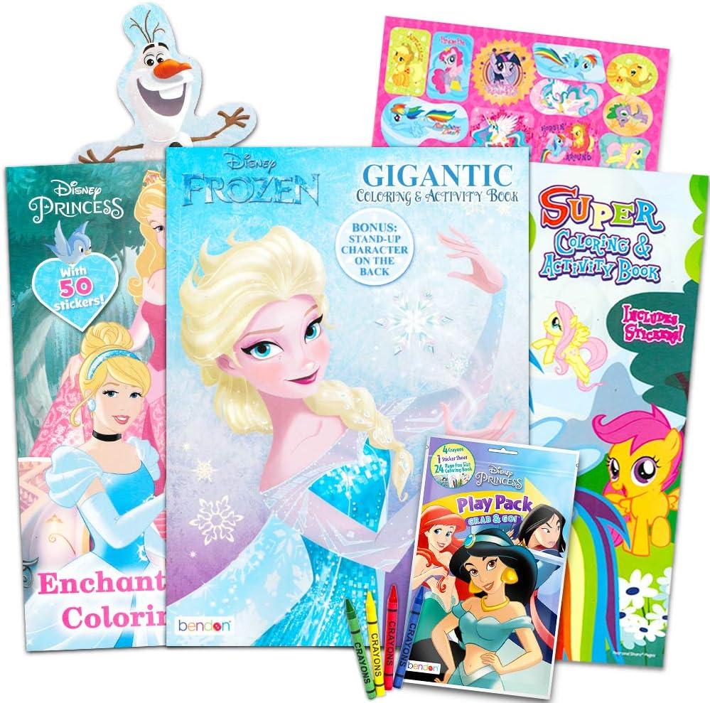 - Amazon.com: Disney MLP Coloring Book Super Set For Girls -- 3