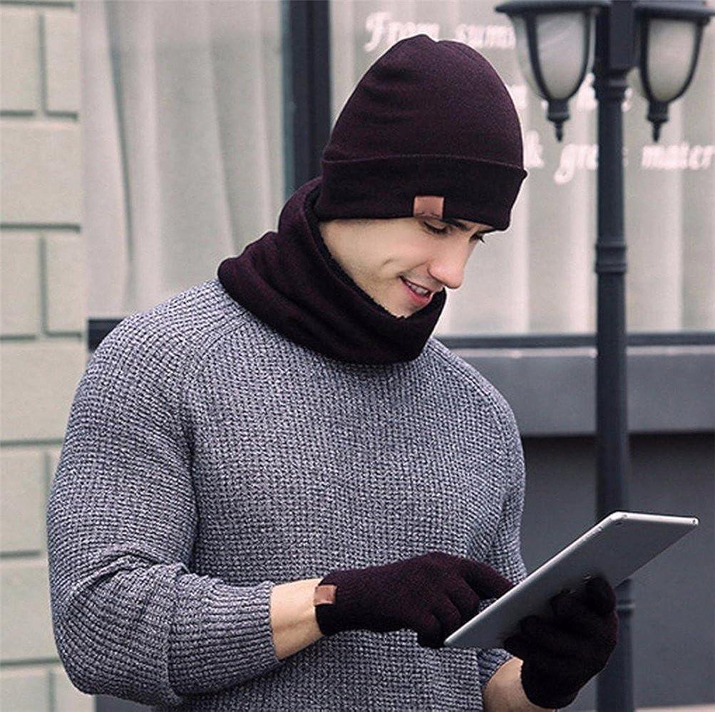 EDOTON Cappelli Invernali Donna Cappelli da Uomo Invernali Sciarpa Uomo Guanti Invernali Guanti Touch Screen