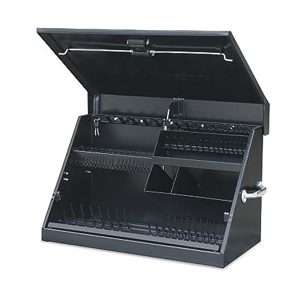 f99a3acc8c5 Montezuma – ME300B – 30-Inch Portable TRIANGLE Toolbox – Multi-Tier Design –