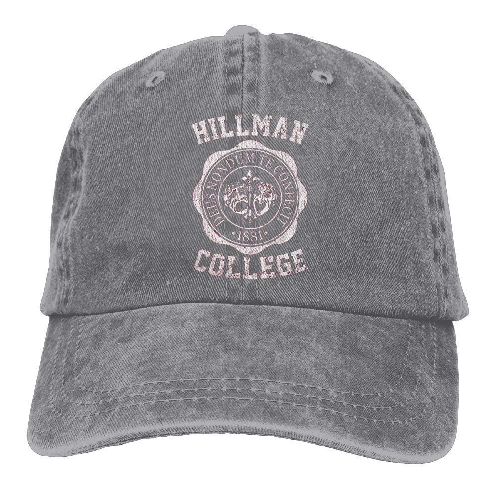 ff490886 switchwak Unisex Hillman College Run Cap Hillman College Adventure ...