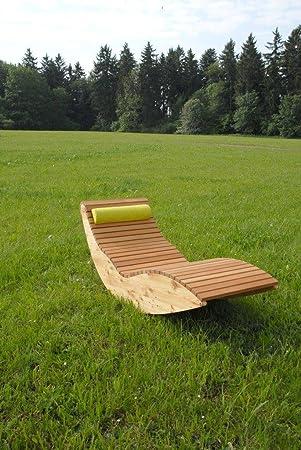 Amazonde Wippliege Querlattung Aus Holz Für Den Garten Und