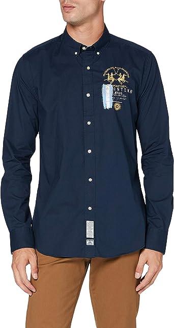 La Martina Man Shirt L/S Poplin Camisa para Hombre: Amazon.es: Ropa y accesorios