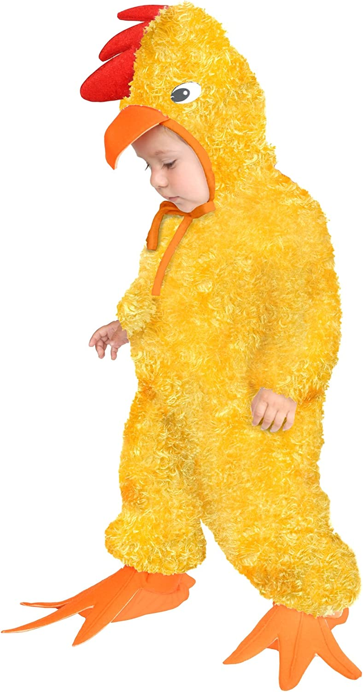 Yellow Charades Unisex-Adults Little Chicken Medium