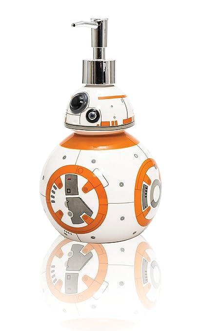Joy Toy BB-8 - Dosificador de jabón líquido - Material: cerámica - Diseño