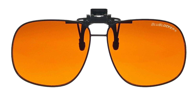 BluBlocker Gafas de sol con clip de 62mm de ancho Grande ...