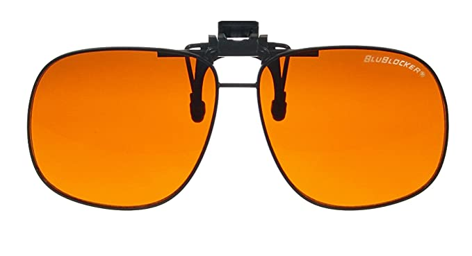 78307d0230c4 Image Unavailable. Image not available for. Color  BluBlocker Large Clip On  Sunglasses 62mm width lens ...