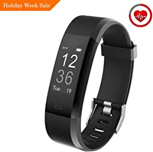 Muzili Fitness Tracker YG3 Plus Activity Tracker with Heart Rate Monitor Calorie Counter Step Counter Sleep Monitor Fitness Watch IP67 Waterproof Smart Wristband for Android and iOS