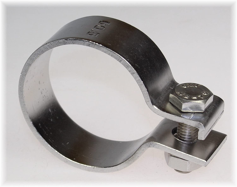 BayWorld V2A Edelstahl 60,5mm DIN Schelle Breitbandklemme 2.40 Klemme
