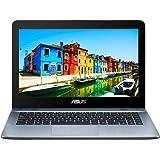 ASUS VivoBook X441UA-WX201T 14-Inch Laptop - (Silver) (Intel Core i3-6006U, 4 GB RAM, 1 TB HDD, Windows 10)