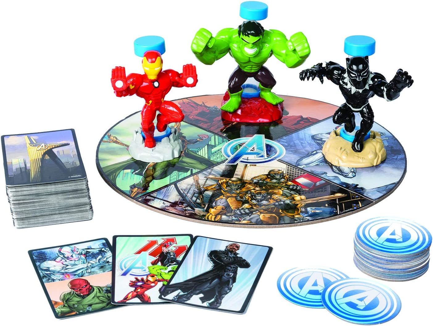Amazon.com: Cardinal Games Marvels Avengers Hero Rush Board ...