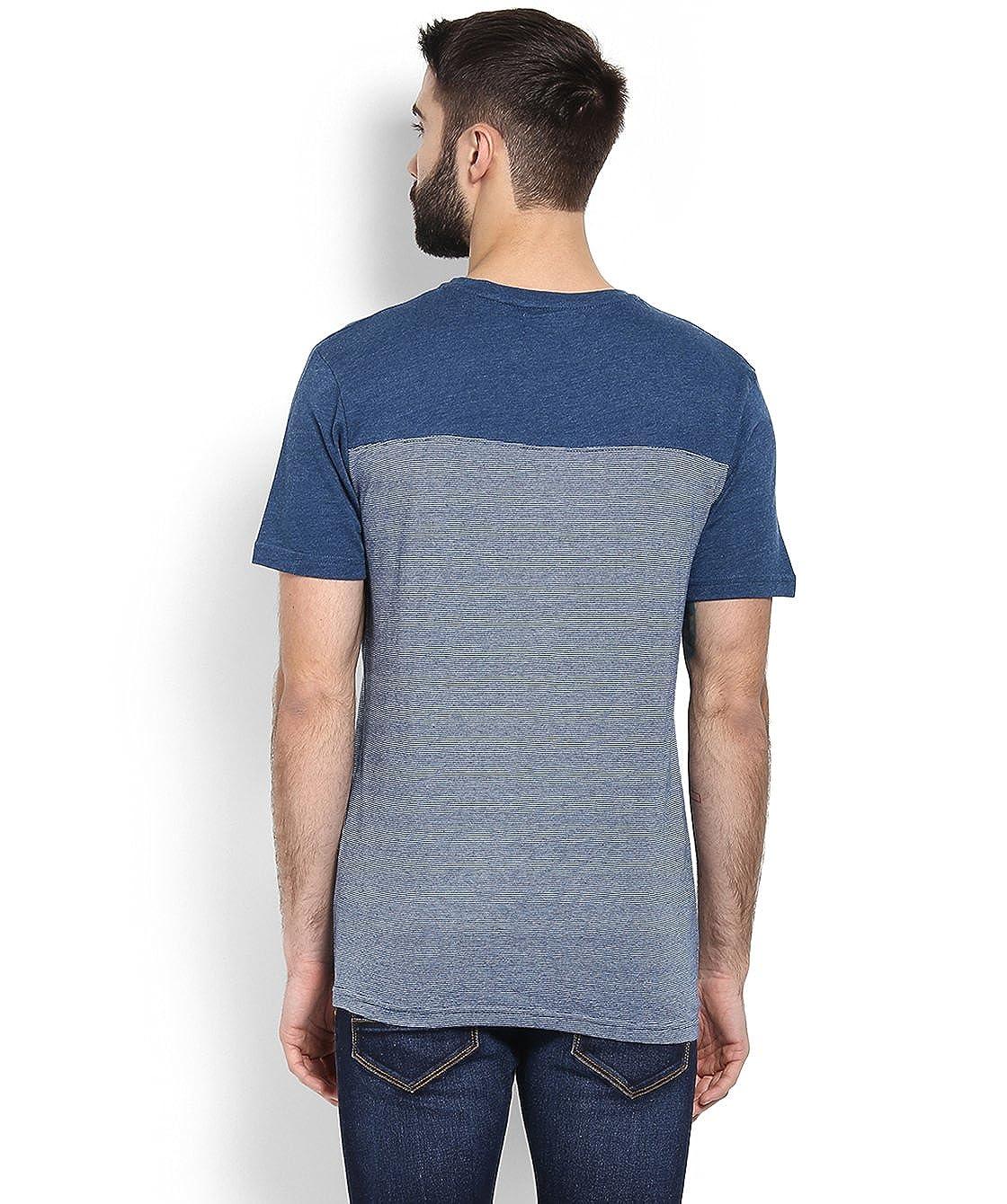Celio GEBLEU Camiseta, Azul (Navy Navy), M para Hombre: Amazon.es ...