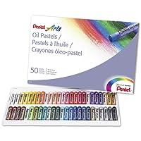 Pentel Arts pasteles al óleo, 50color Set (phn-50)