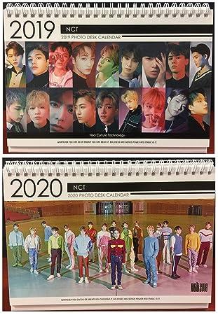 Kpop NCT 2019 & 2020 - Calendario de escritorio con soporte ...