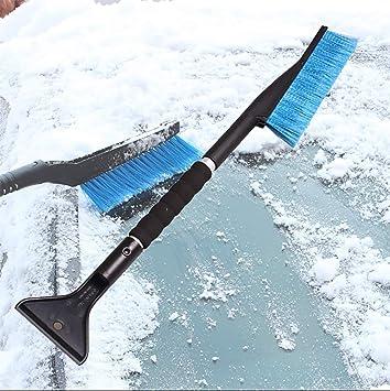 RUIX Cepillo Nieve, Herramienta para Quitar La Nieve del Coche/Quitanieves / Descongelar Hielo 2 En 1: Amazon.es: Deportes y aire libre