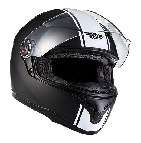Amazon.es: MOTO X86 Racing Matt Black · Sport Scooter Fullface-Helmet Moto motocicleta Urban Casco Integrale Urbano Cruiser · ECE certificado · visera ...