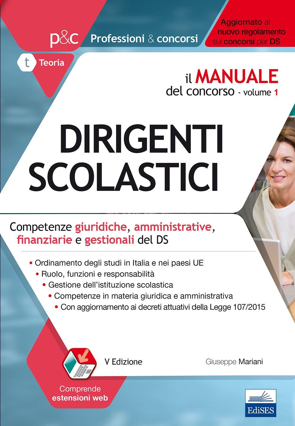 Il manuale del concorso - Vol. 1 - Dirigenti scolastici (Volume 1) (Italian Edition) pdf epub