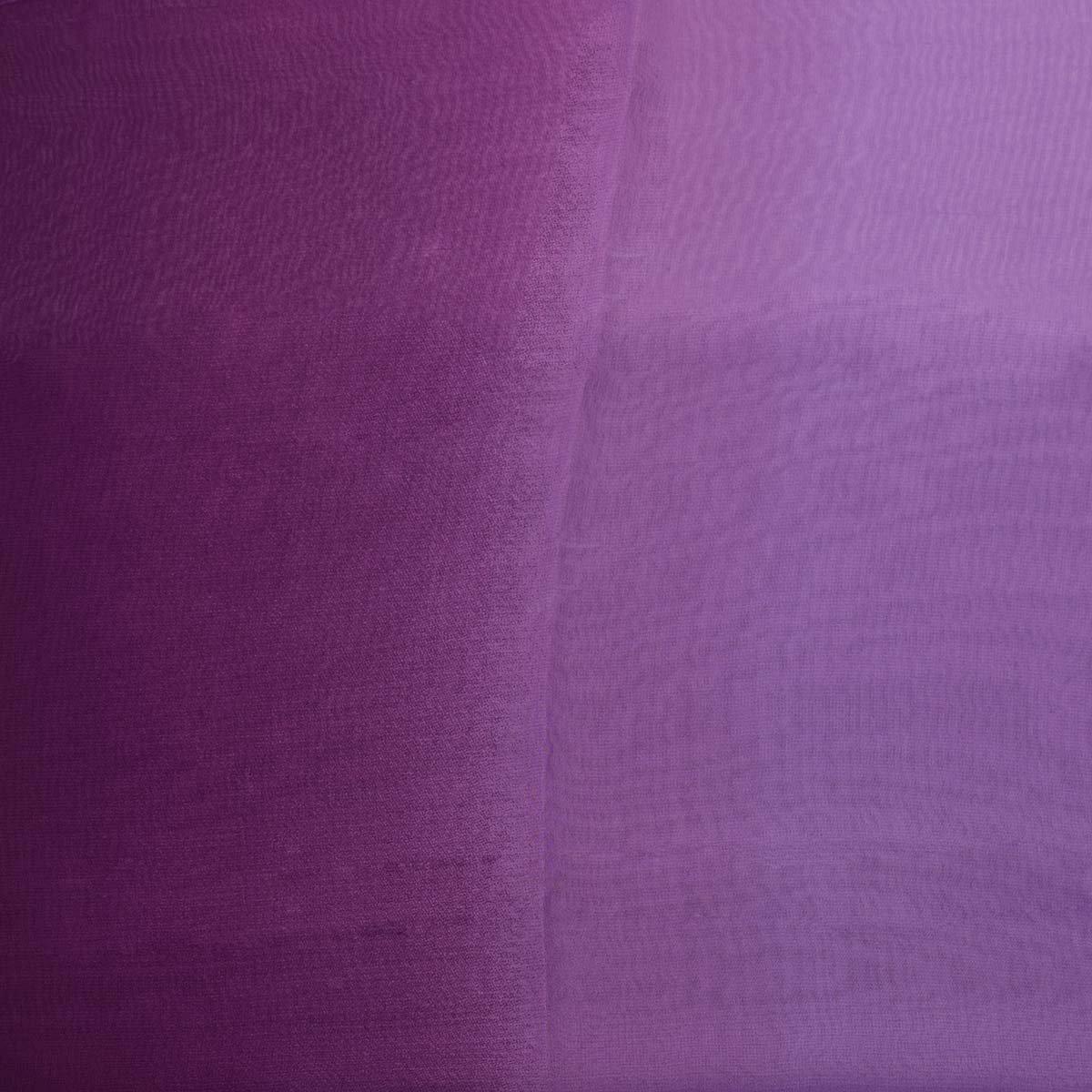 0002a265308f Classique Uni en mousseline de soie  Écharpe Poids l éger et doux  Transparent Semi