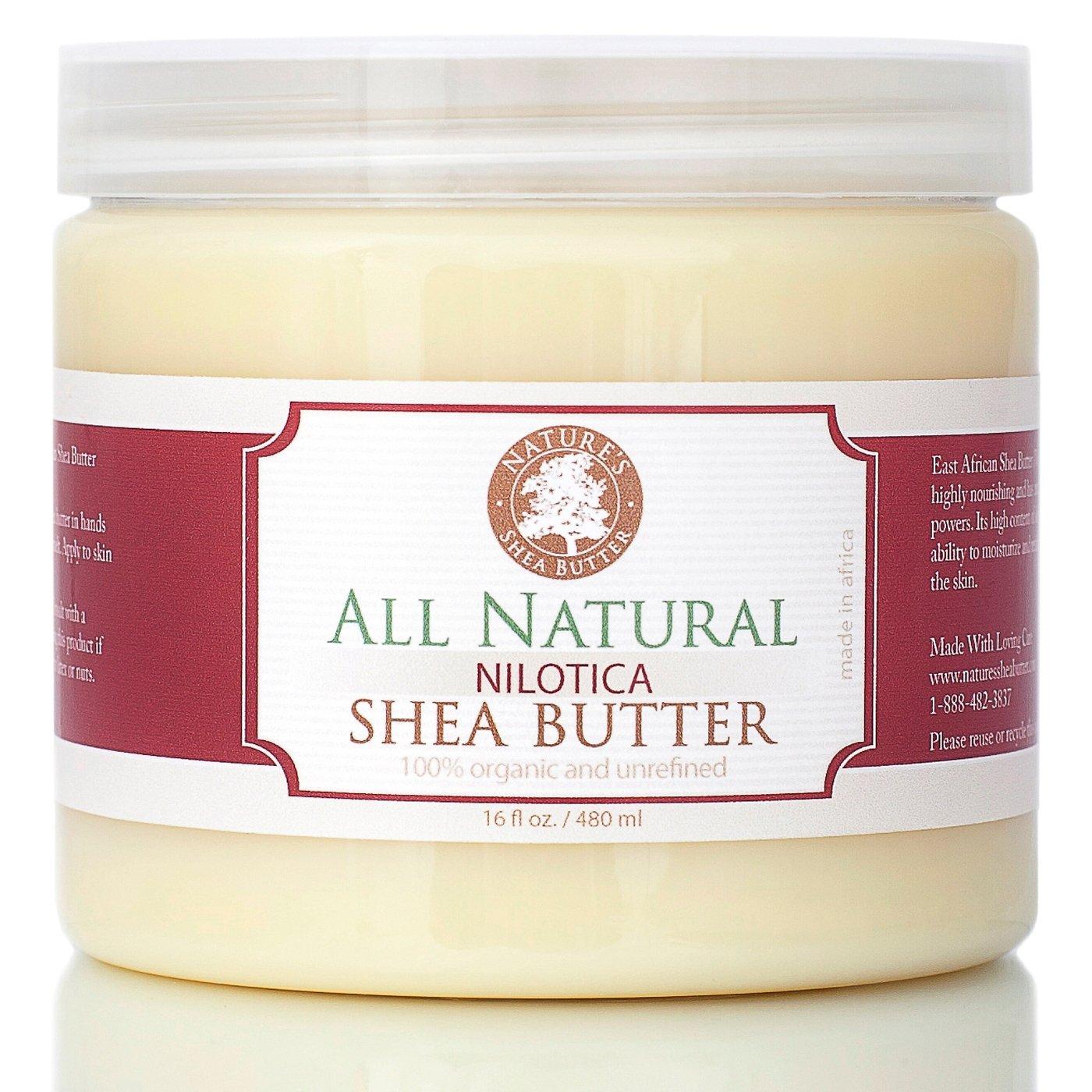 Nature's Shea Butter Nilotica East African Shea Butter, 16 fl. oz.