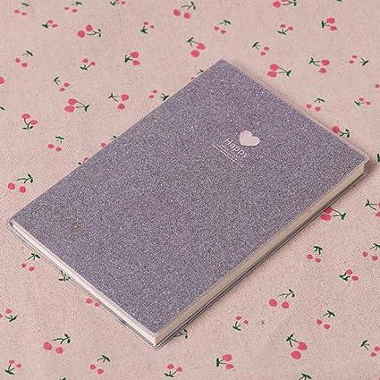 GOUDEDE Regalo para la maestra Cute Love PVC Notebook Paper ...