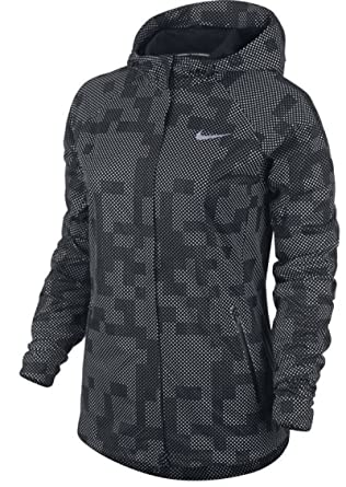 ffabc2d65658 Amazon.com  Nike Shield Flash Max Women s Running Jacket (XS) Black   Clothing