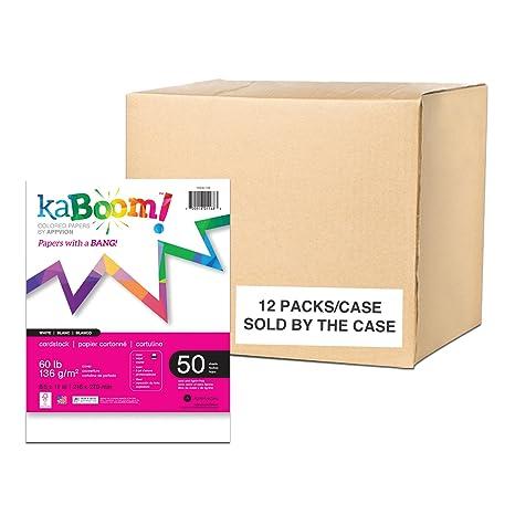 Amazon.com: Estuche de 12 paquetes de Kaboom papel de copia ...