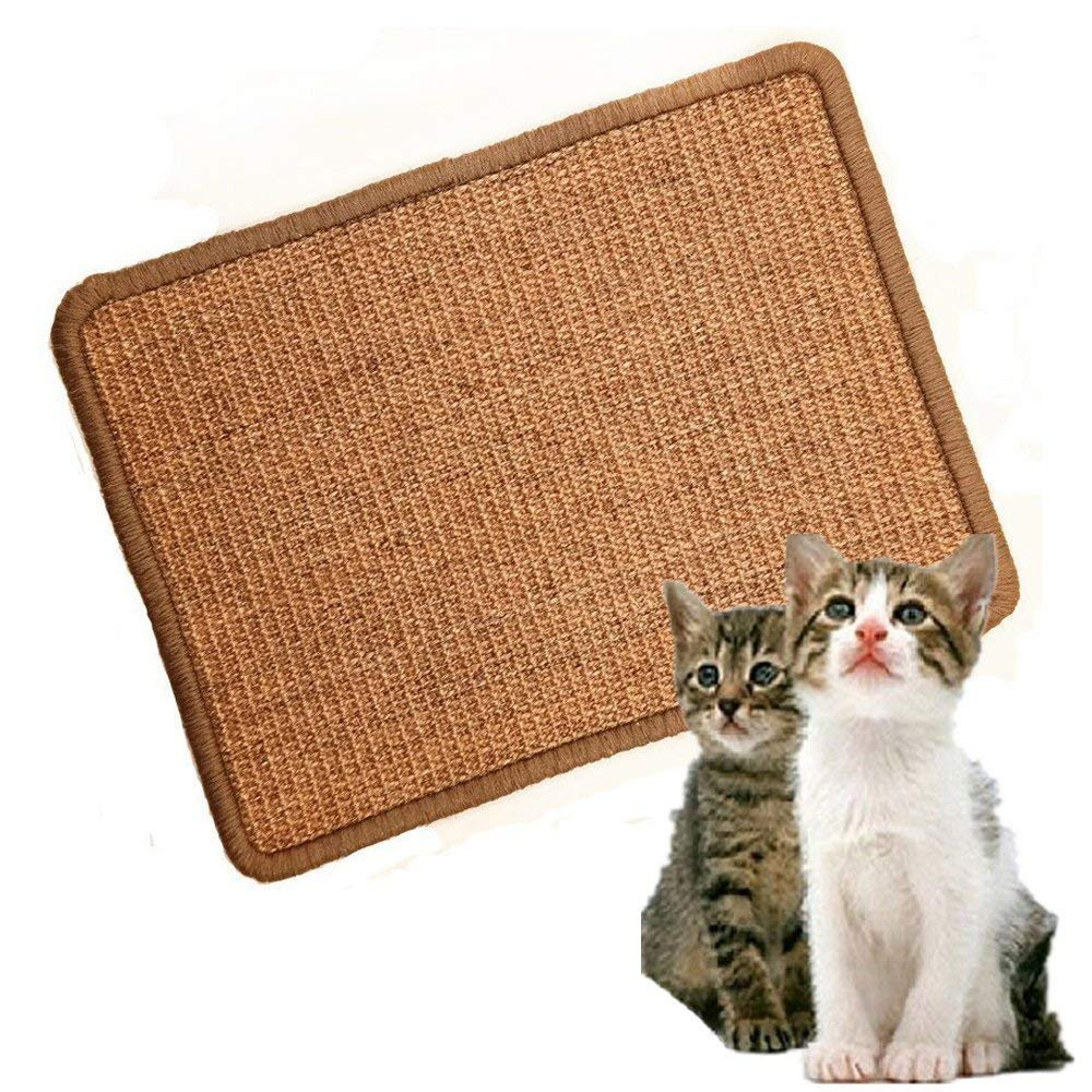 LPLED Cat Scratching Mat,Natural Sisal Cat Mat,Protection Play Scratcher Pad by LPLED