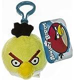 """イエローBird : Angry Bird ~ 2.5"""" mini-plushバックパッククリップシリーズ"""