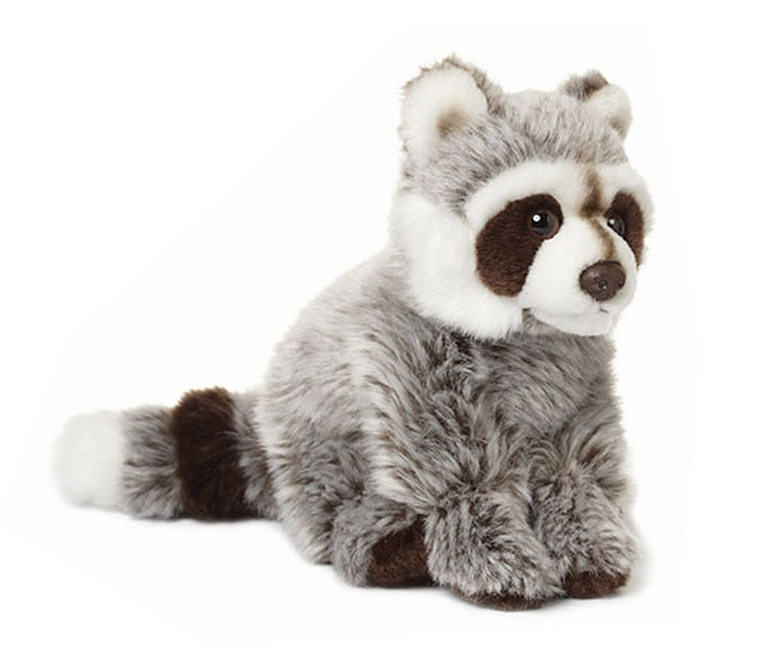 Amazon.com: Universal Trends WWF WWF00547 Raccoon Sitting 15 cm 2 Different Kinds: Toys & Games
