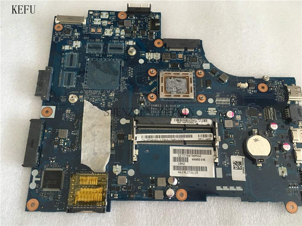 A00 YOUKITTY for Dell Inspiron M531R 5535 Laptop Motherboard VAW03 LA-9103P REV.1.0 CN-02HKNW 02HKNW Mainboard with A8-5545M CPU