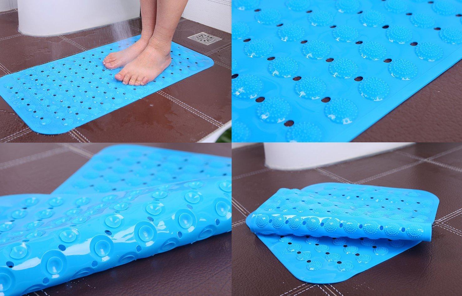 Amazon.com: SPJ: Non Slip Foot Massage Mat Bath Shower Kitchen ...