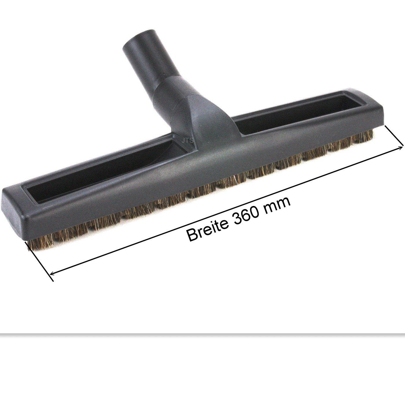 DeClean Staubsauger Parkettd/üse Staubsaugerb/ürste Hartbodend/üse Laminatd/üse Extra Breit 360 mm Ersatz f/ür 32 mm Universal