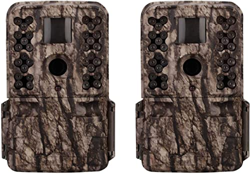 Moultrie M-50 20MP Low Glow Infrared Game Camera 2 Pack