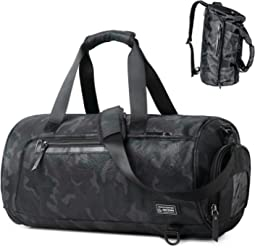8a276dc1ff69 Sports Gym Bag Travel Duffel Backpack for Women and Men Overnight Travel  Tote Bag with Shoe
