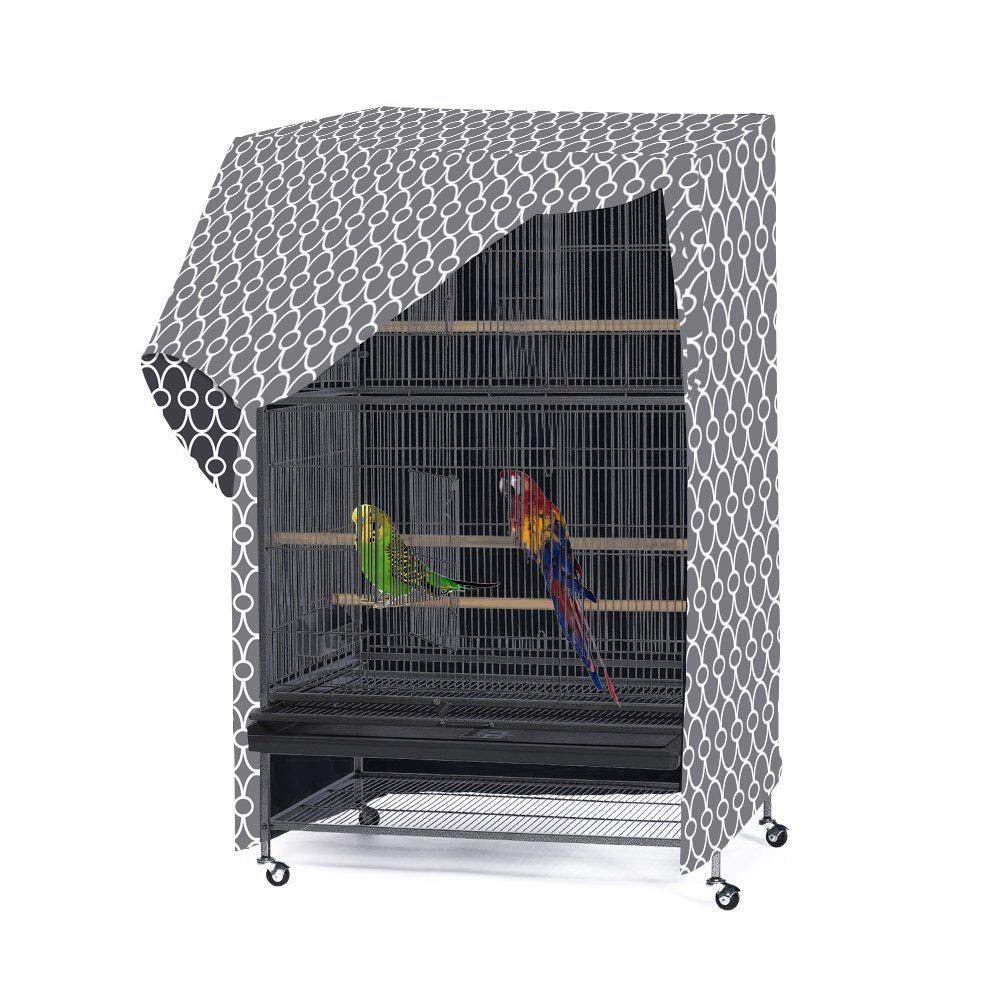 Morezi Birdcage Cover Blackout & Breathable Material, Fits Most 35'' inches Pet Crates. Easy to Put On, Take Off, and Adjust - Cover only - Medium by Morezi