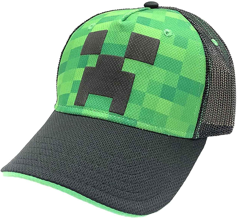Bioworld Merchandising Minecraft Creeper Face Gorra de béisbol ...