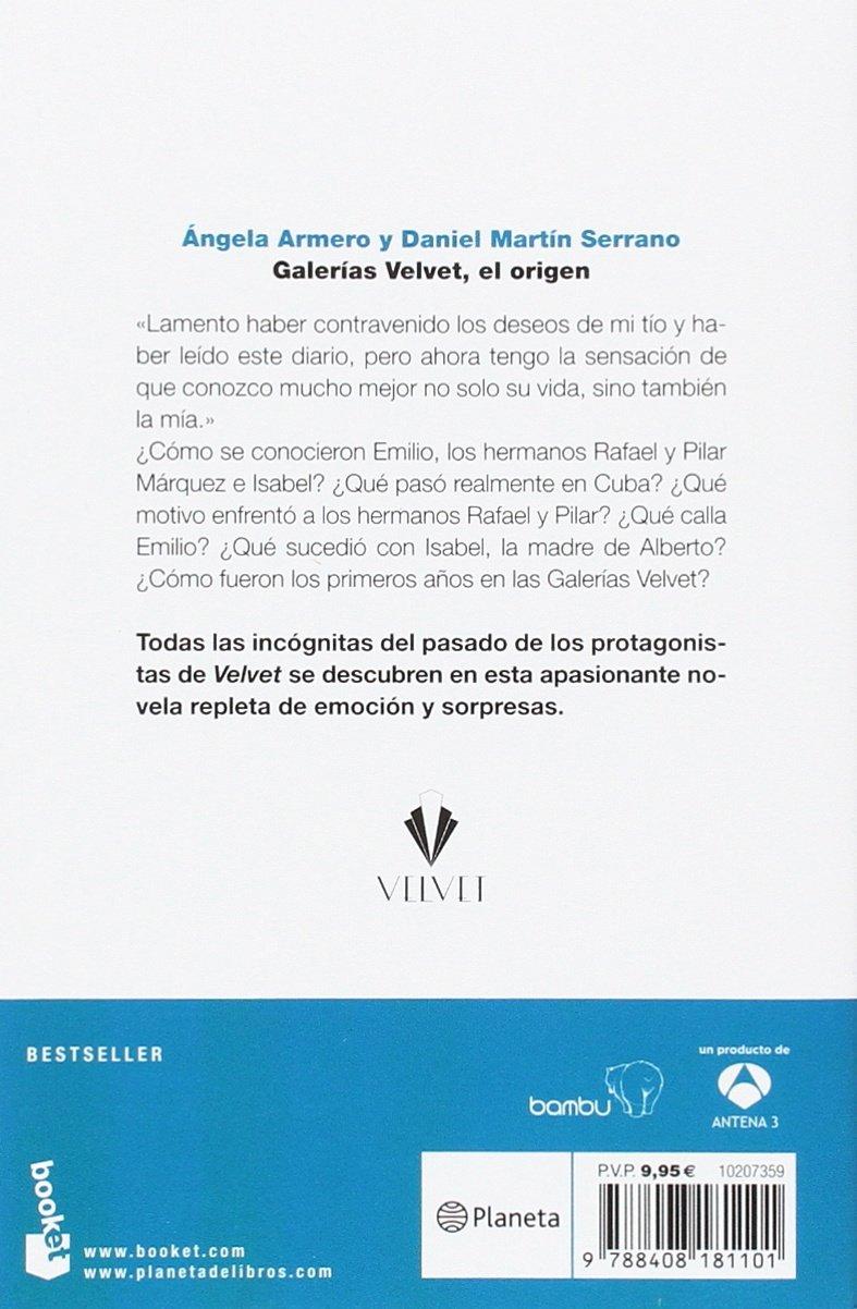 Galerías Velvet, el origen (Bestseller): Amazon.es: Armero ...