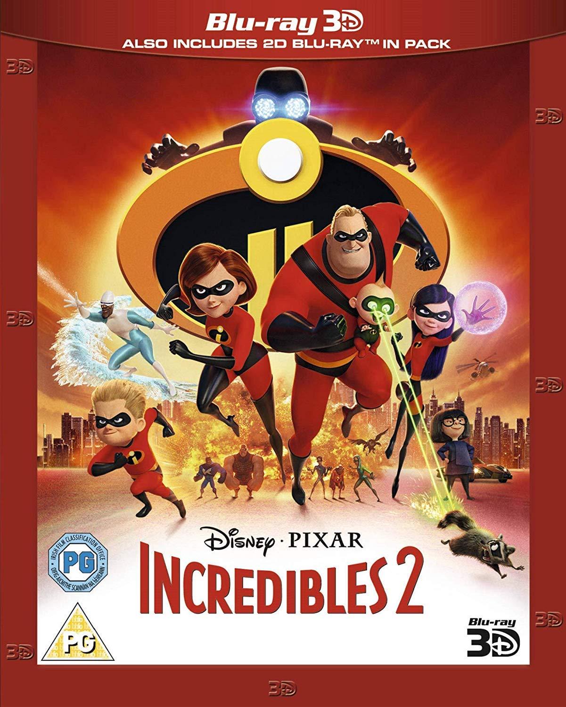 Incredibles 2 3D [Italia] [Blu-ray]: Amazon.es: Craig T. Nelson ...
