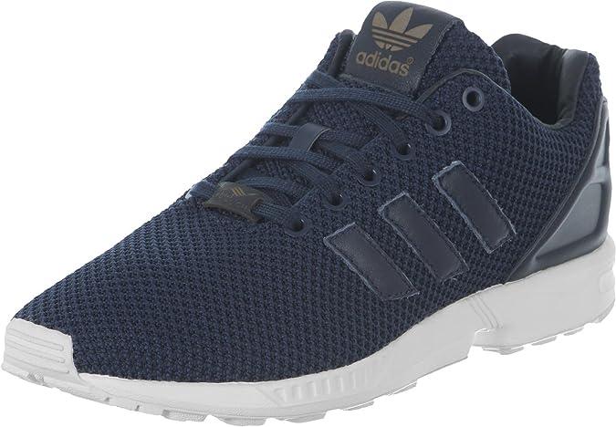 Adidas Schuhe ZX Flux Herren collegiate navy collegiate navy vintage white (S79088) 48 blau