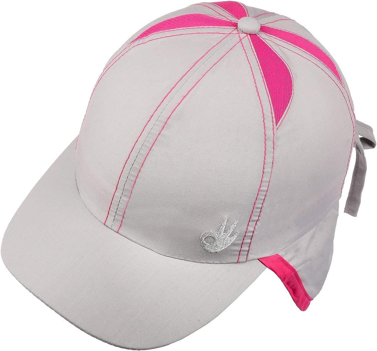 Cappellishop Cappellino da Bambino con Protezione Nuca Deblan Baseball cap Berretto Estivo