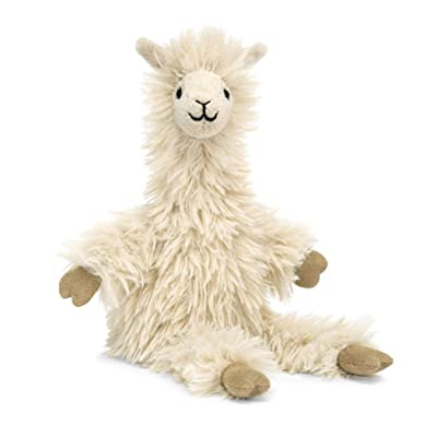 Jellycat Bonbon Llama Stuffed Animal, 10 inches: Toys & Games