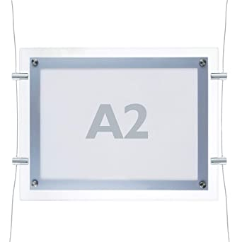 PrimeMatik - Marco cuadro iluminado por LED A2 670x495mm ...