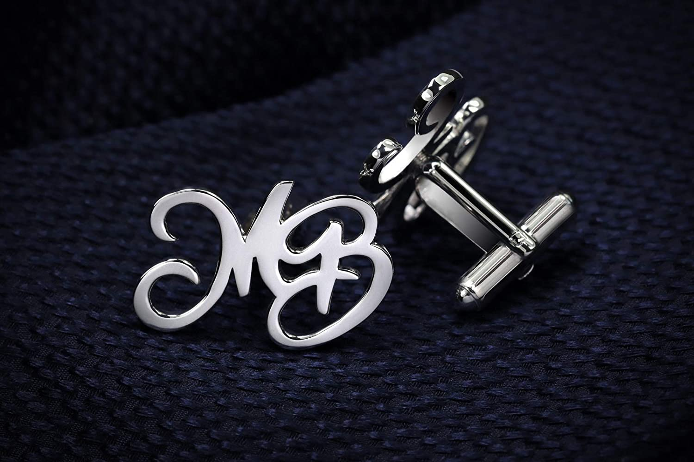INITIALS wedding personalized cufflinks