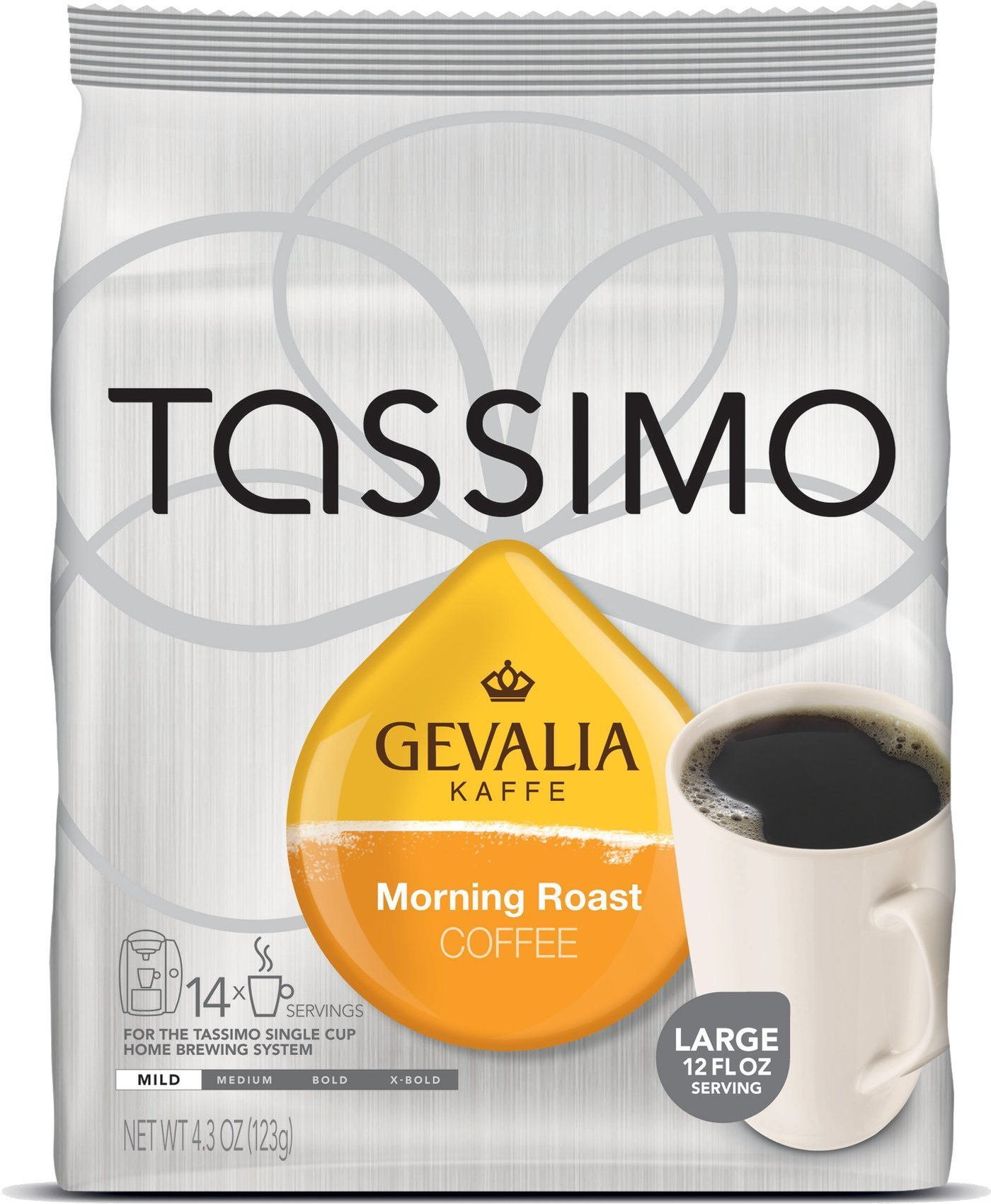 Gevalia Morning Roast, 14-Count T-Discs for Tassimo Single Cup Brewing systems - [3 pack] by Gevalia