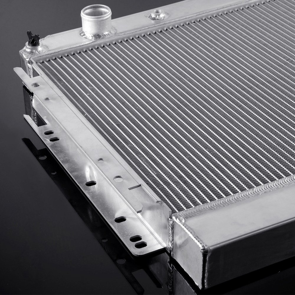 CHEVY CHEVELLE EL CAMINO 1964-1967 CHEVY BISCAYNE 1963-1968 High Capacity 1959 1960 50mm 2 Row Core Aluminum Radiator For 1963-1968 Chevy BELAIR IMPALA//CHEVY CAPRICE 1966-1968