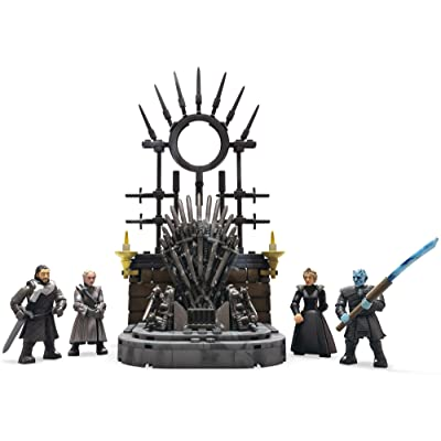 Mega Brands Game of Thrones: The Iron Throne Building Set Construx, Multicolor (GKM68): Toys & Games