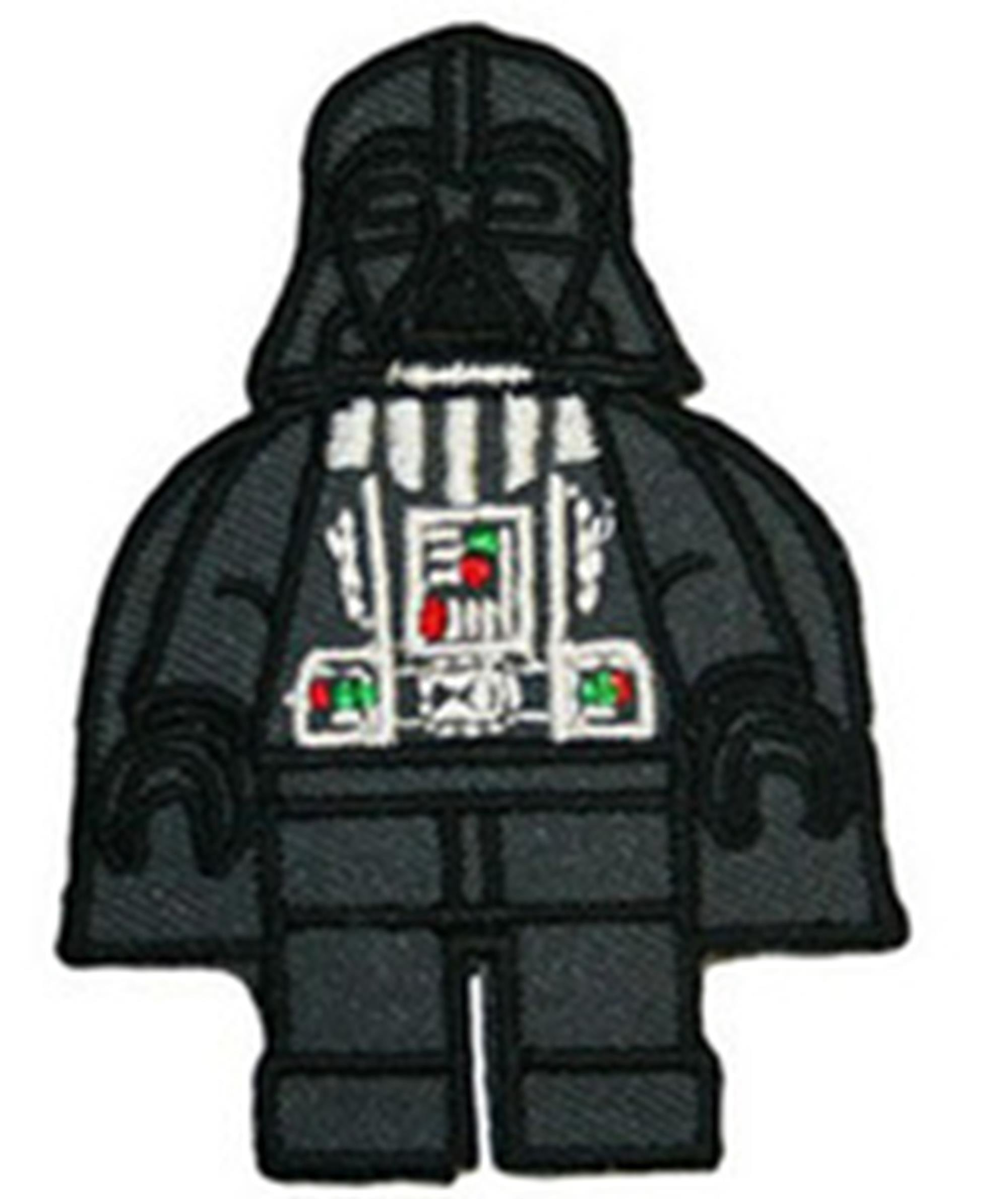 Blue Heron Star Wars Lego Darth Vader Sith 3'' Uniform Embroidered Iron/Sew-on Applique Patch by LEGO