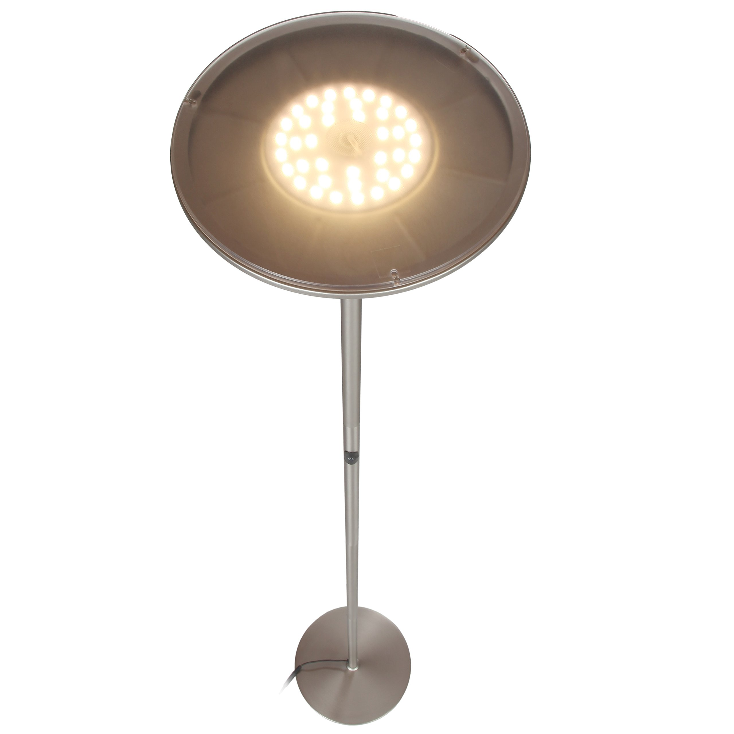 Brightech Sky Led Torchiere Floor Lamp Dimmable 30